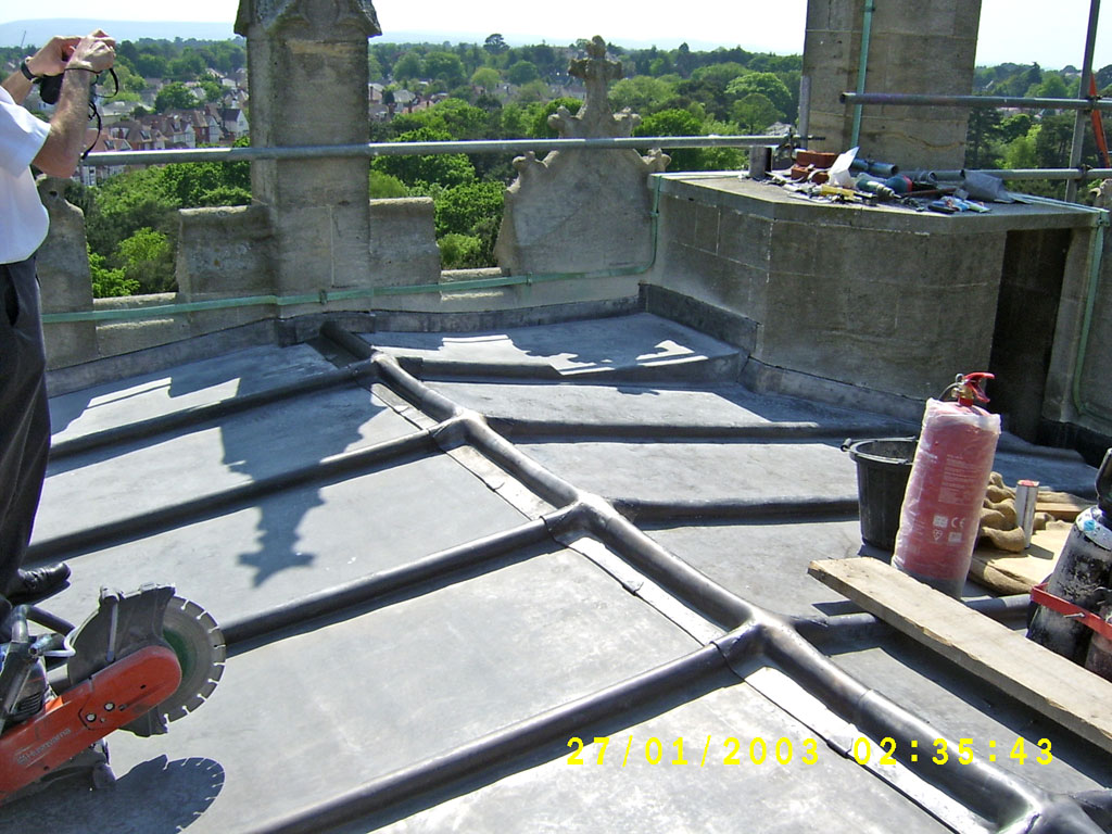 Dylan Faber Roofing - Leadworks 007