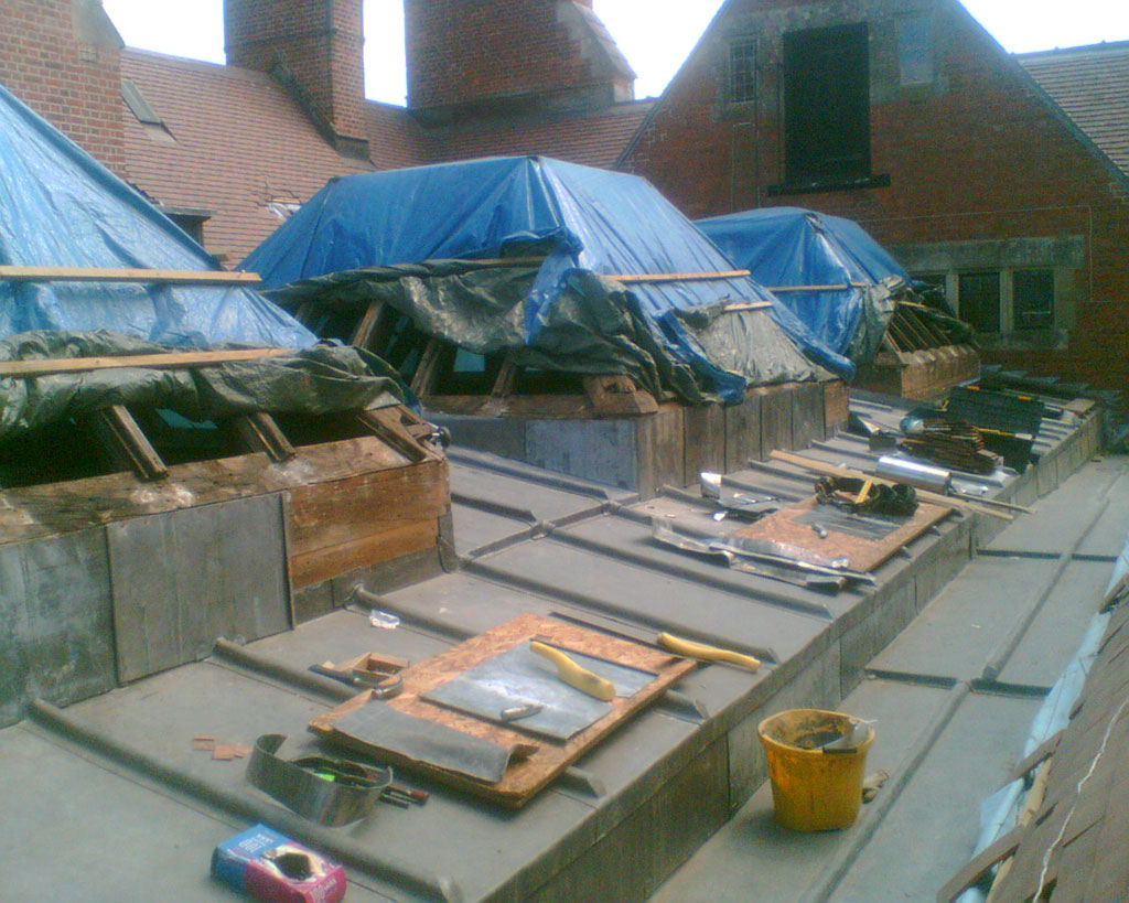 Dylan Faber Roofing - Leadworks 012
